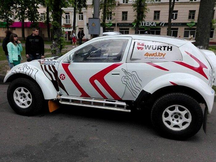 Полоцк готовится к ралли: фоторепортаж с выставки спортивных автомобилей на площади Скорины, фото-7