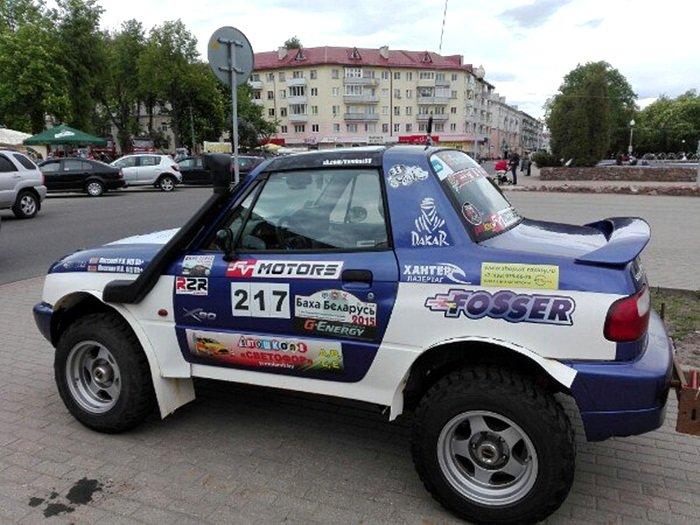 Полоцк готовится к ралли: фоторепортаж с выставки спортивных автомобилей на площади Скорины, фото-2