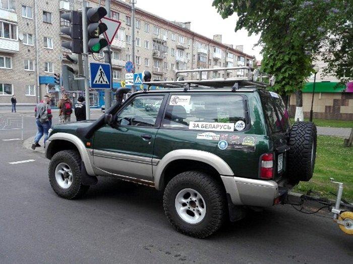 Полоцк готовится к ралли: фоторепортаж с выставки спортивных автомобилей на площади Скорины, фото-3