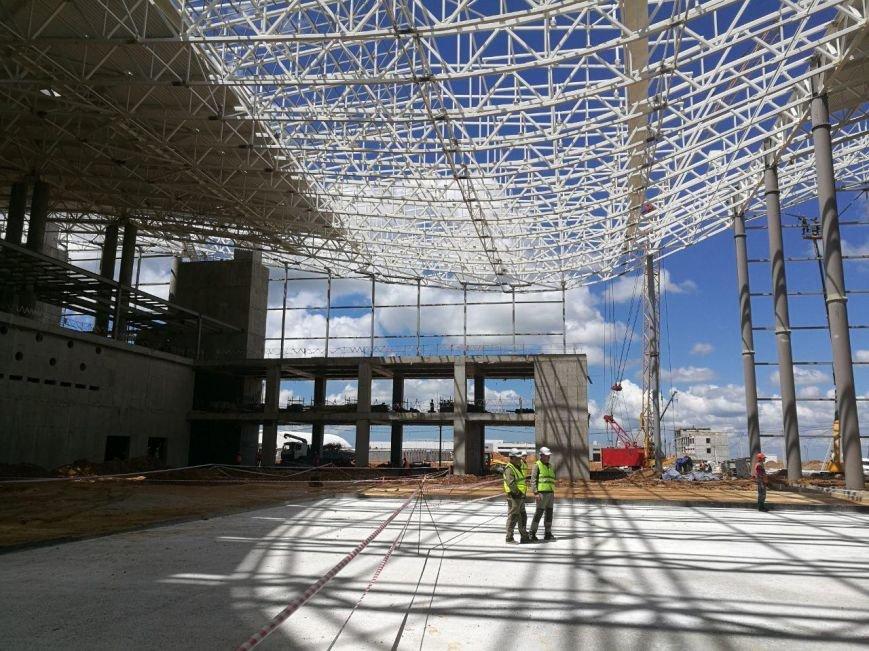 """Строительство нового терминала аэропорта """"Симферополь"""" в разгаре (ФОТО), фото-5"""
