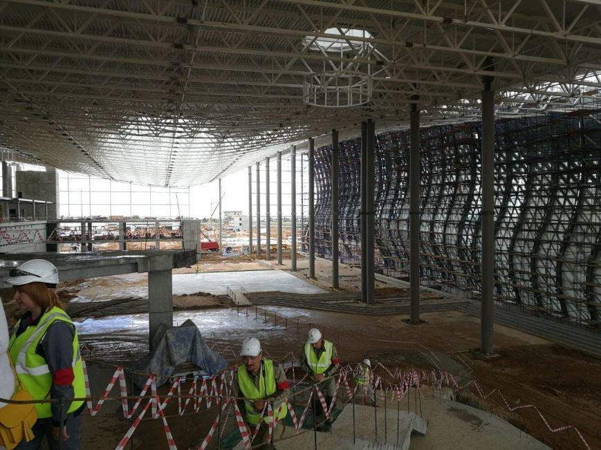 """Строительство нового терминала аэропорта """"Симферополь"""" в разгаре (ФОТО), фото-2"""