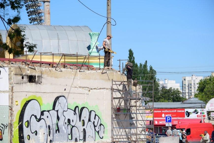 Территорию возле Центрального рынка Симферополя начали благоустраивать (ФОТО), фото-1