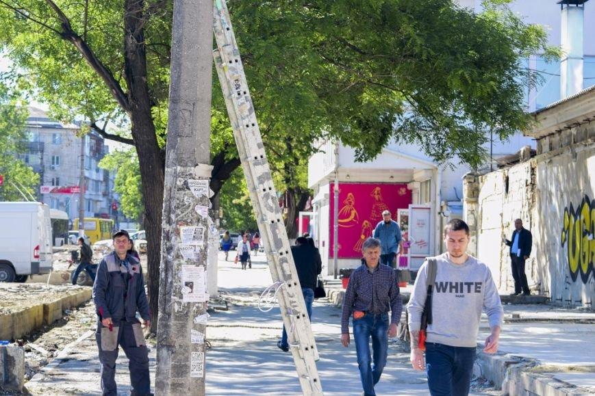 Территорию возле Центрального рынка Симферополя начали благоустраивать (ФОТО), фото-2