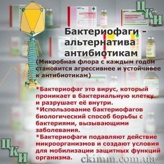 Бактериофаги-препараты