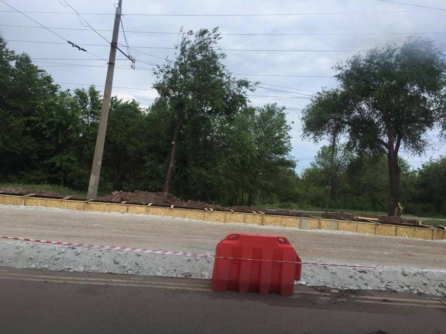 Мэр проверил, как идет ремонт дороги в Кривом Роге, на которую область выделила 65 миллионов (ФОТО), фото-19