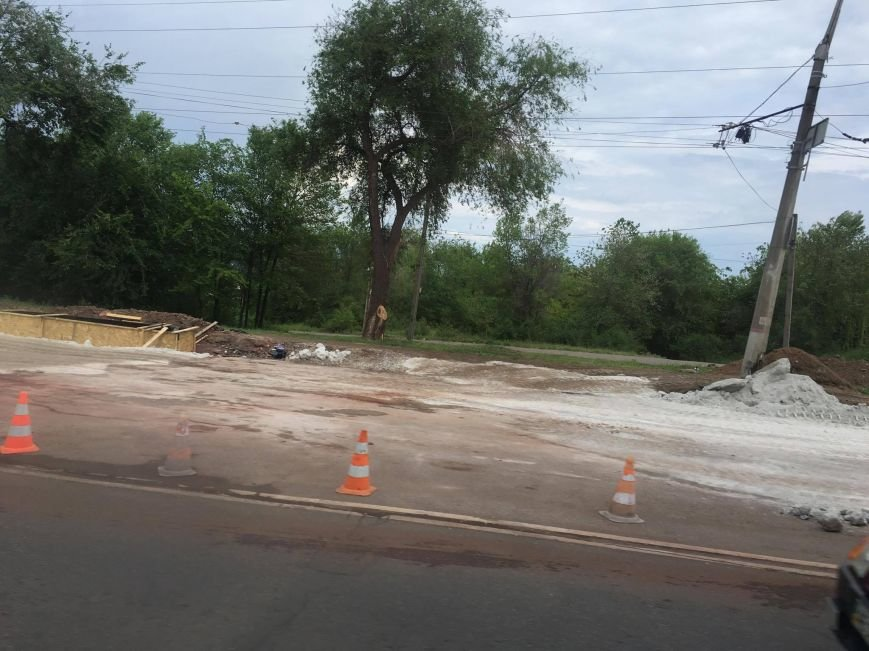 Мэр проверил, как идет ремонт дороги в Кривом Роге, на которую область выделила 65 миллионов (ФОТО), фото-20