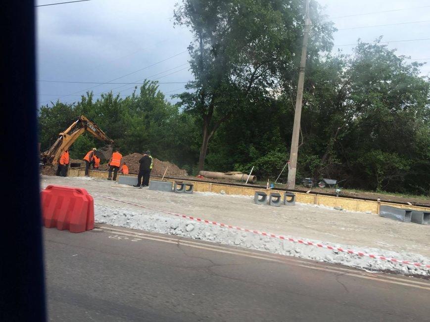 Мэр проверил, как идет ремонт дороги в Кривом Роге, на которую область выделила 65 миллионов (ФОТО), фото-17