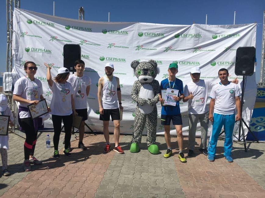 "Жители Актау стали призерами ""Зеленого марафона"". Видео, фото-24"