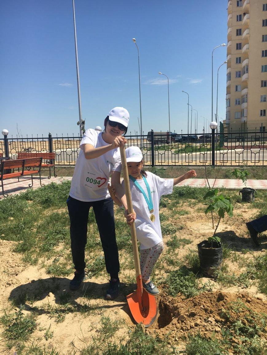 "Жители Актау стали призерами ""Зеленого марафона"". Видео, фото-33"