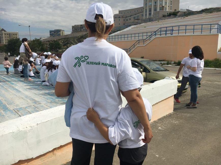 "Жители Актау стали призерами ""Зеленого марафона"". Видео, фото-13"