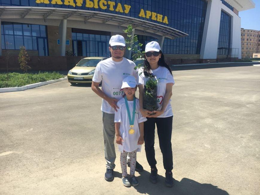 "Жители Актау стали призерами ""Зеленого марафона"". Видео, фото-28"