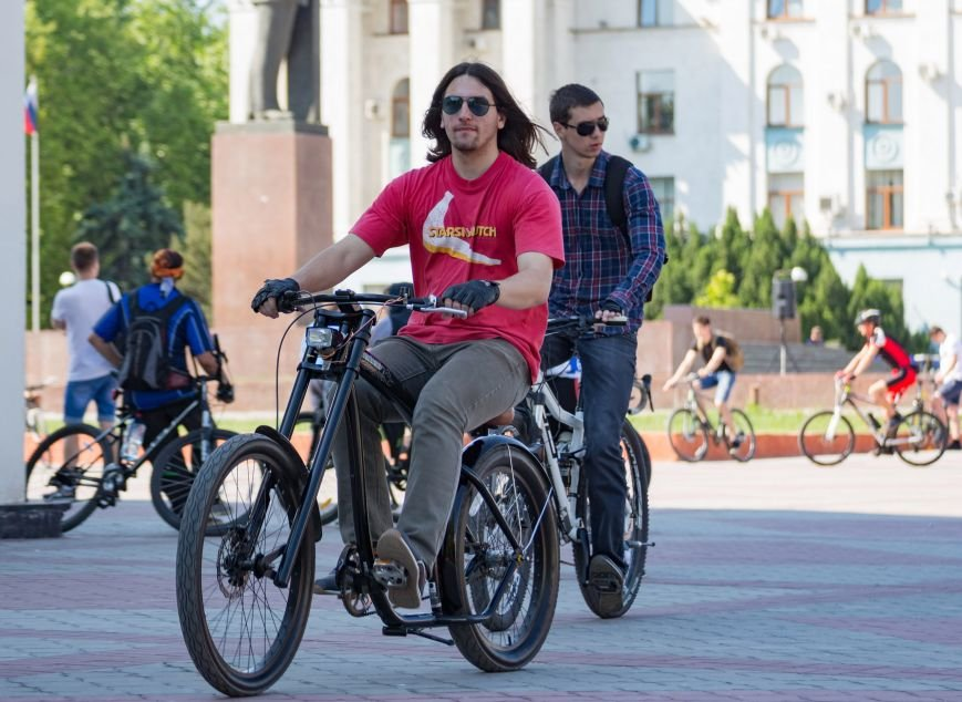 Велопарад собрал в центре Симферополя несколько сотен участников от мала до велика (ФОТО, ВИДЕО), фото-6