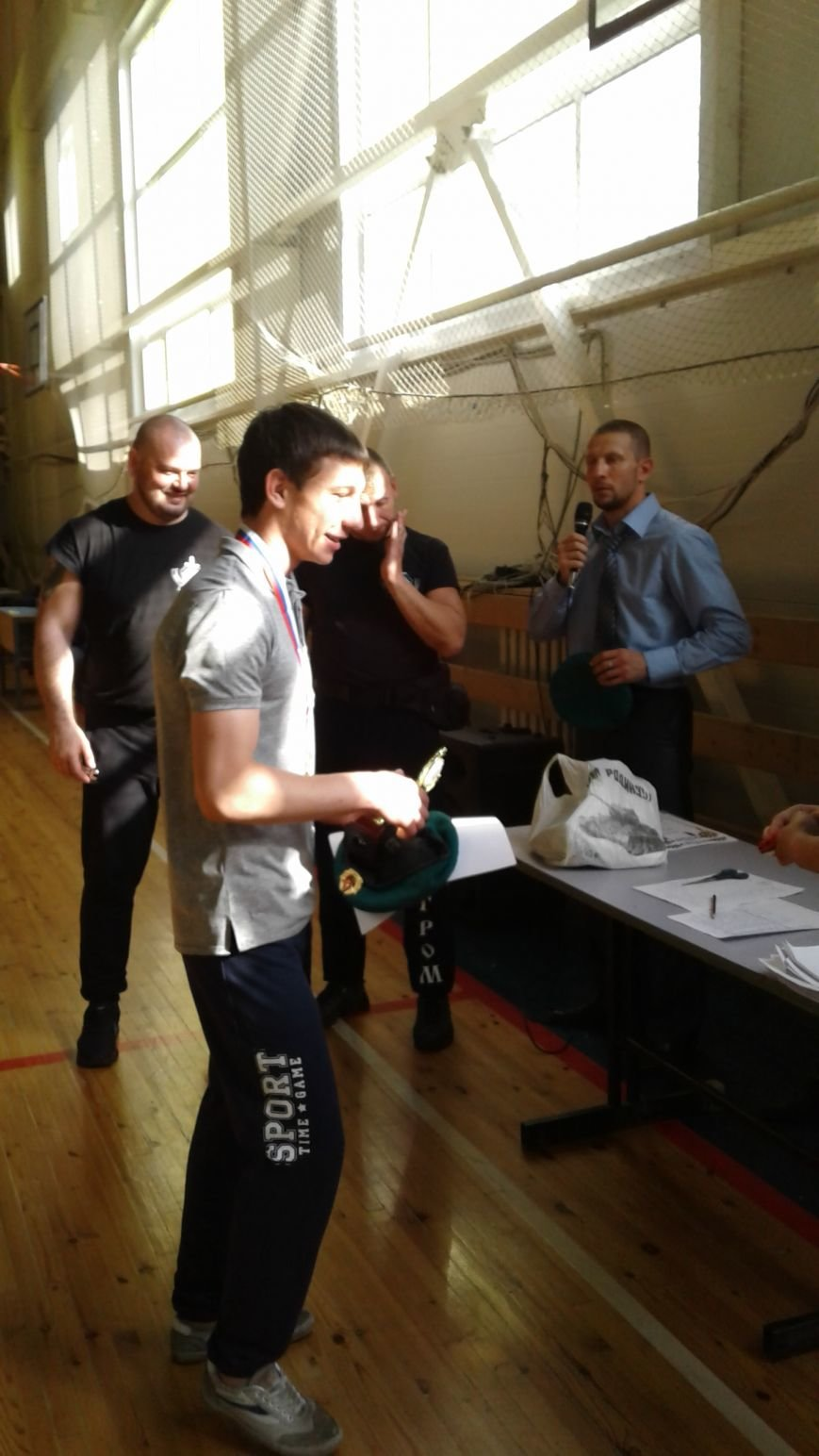 Арестов Сергей - лучший боец турнира