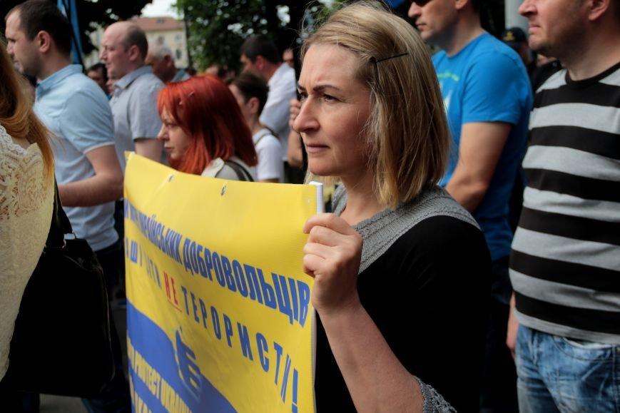 Львівську обласну раду пікетують: дізнайся, хто і чому (ФОТОРЕПОРТАЖ), фото-6