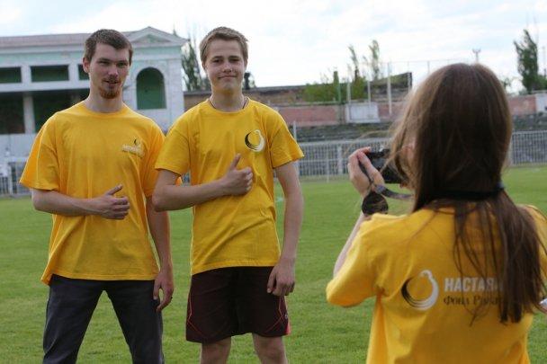 Матч дружбы: в Мариуполе дети-сироты сразились с профессиональными футболистами, фото-6