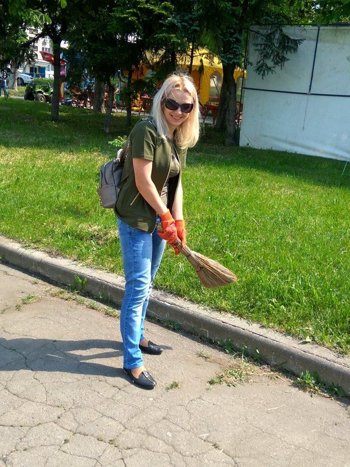 В Покровске провели очередной общегородской субботник, фото-3
