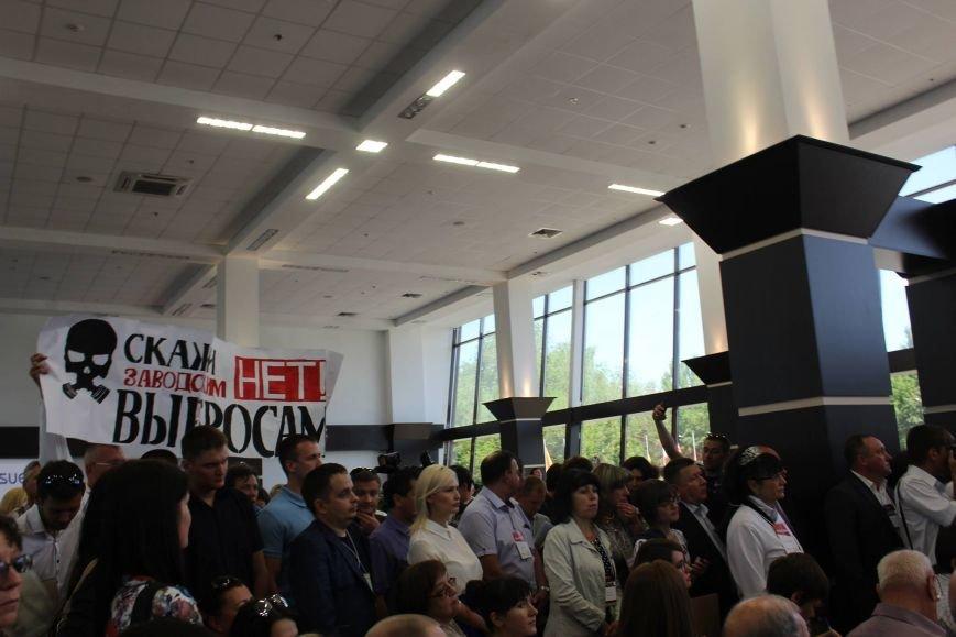 В Запорожье активисты в противогазах пришли на открытие Эко-форума, - ФОТО, ВИДЕО, фото-10