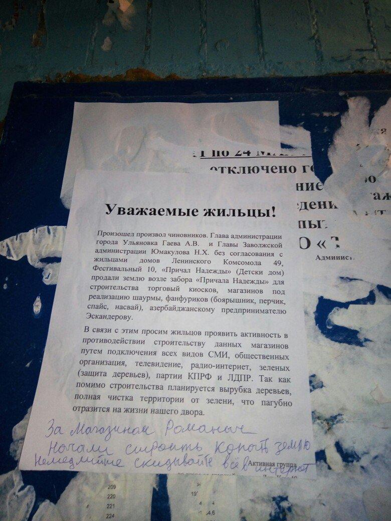 Возле ульяновского детского дома незаконно продали землю?, фото-1