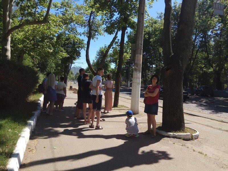 Одесские коммунальщики лишили Французский бульвар деревьев и остановки (ФОТО), фото-1