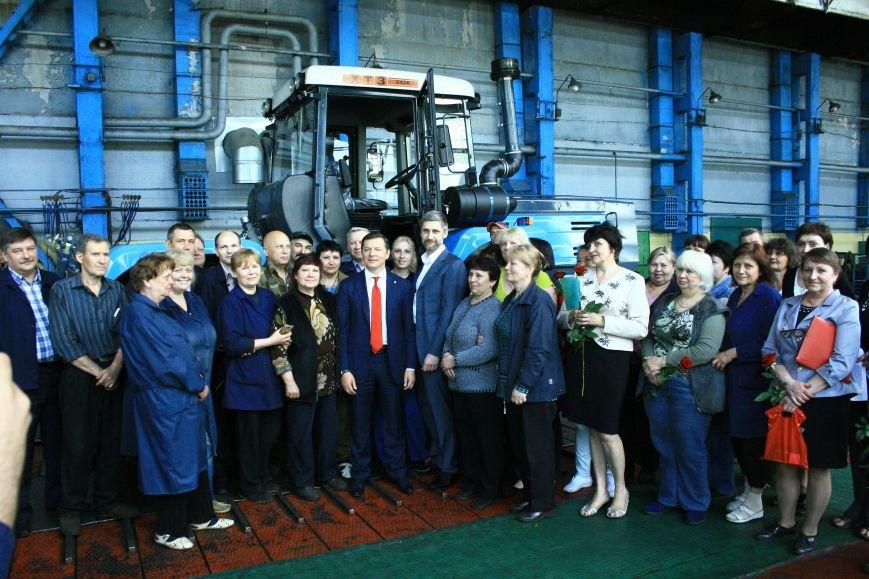 Харьковский тракторный завод с рабочим визитом посетил Олег Ляшко (ФОТО), фото-1