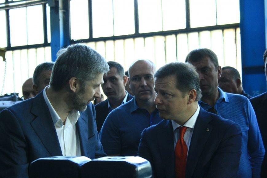 Харьковский тракторный завод с рабочим визитом посетил Олег Ляшко (ФОТО), фото-3