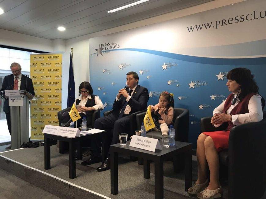 Гуманитарный штаб Рината Ахметова и семья переселенцев в Брюсселе рассказали о войне на Донбассе, фото-2