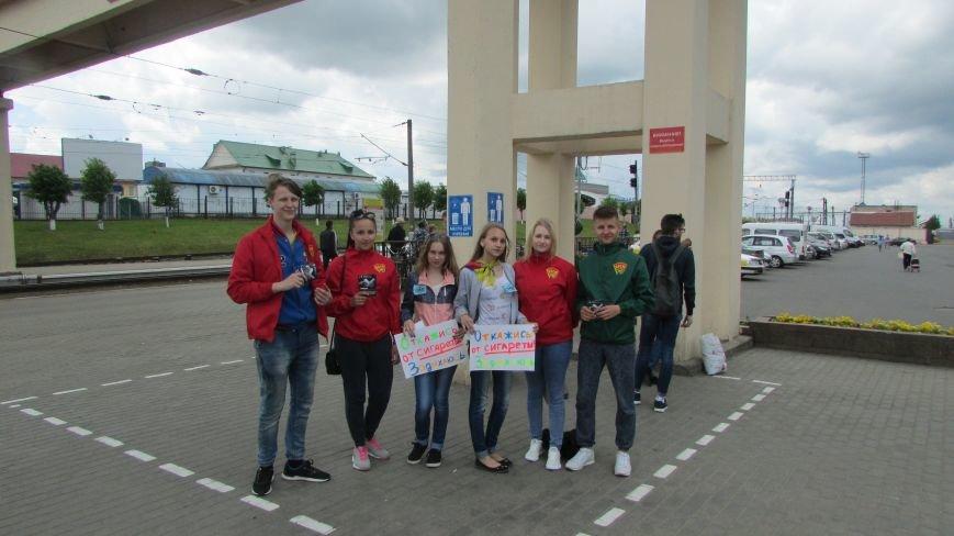 волонтеры на вокзале