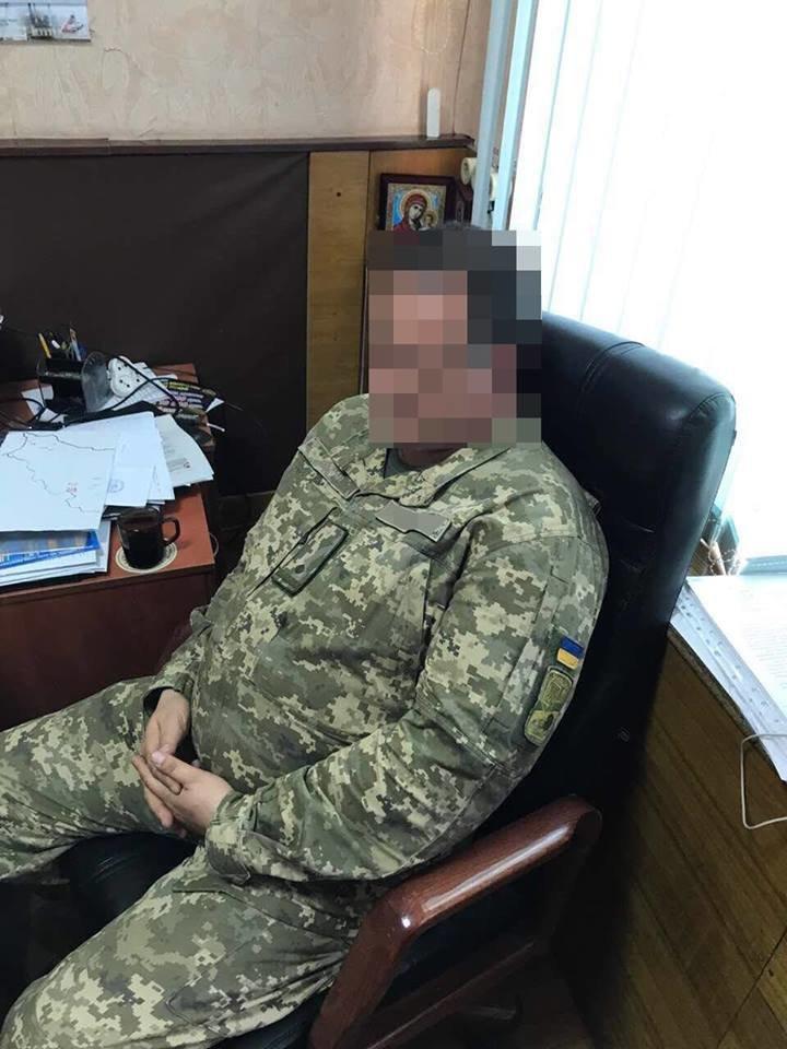Военком попался на взятке в Харьковской области (ФОТО), фото-1