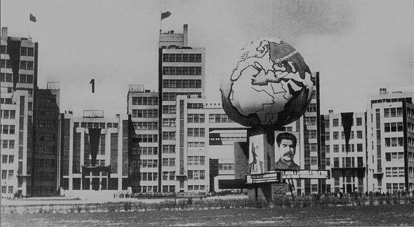 Кости мамонта, и жилище лошадей: как в Харькове строили первый советский небоскреб (ФОТО), фото-4