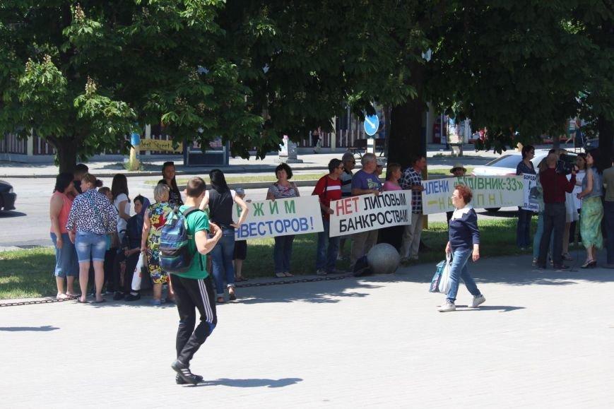 Под запорожской мэрией проходит митинг, участников не пустили на сессию, - ФОТО, ВИДЕО, фото-10