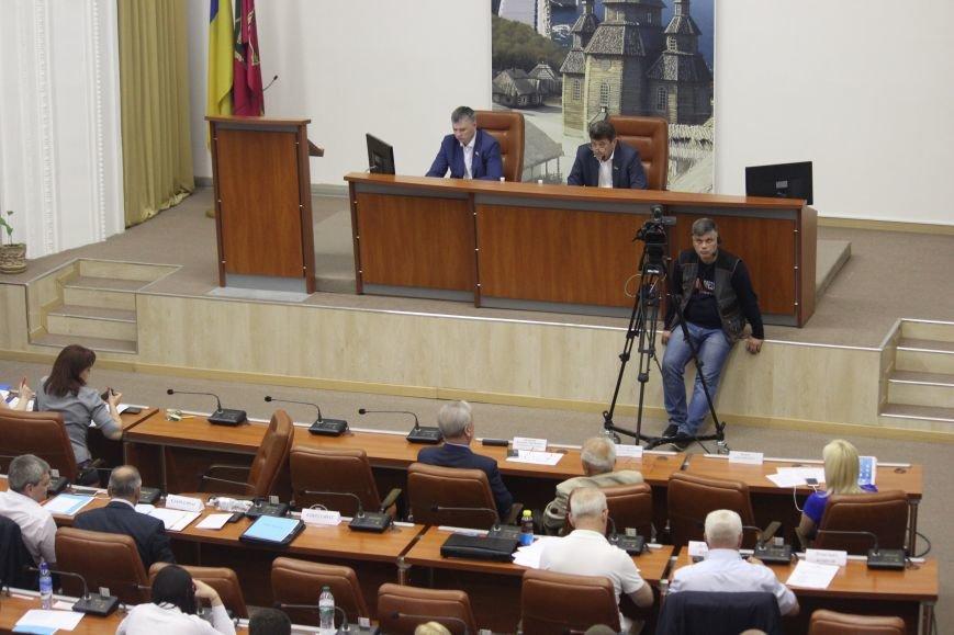 Сессия Запорожского горсовета в 45 фотографиях, фото-40