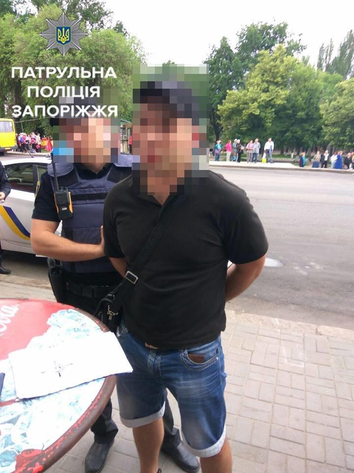 В Запорожье задержали мужчину, ограбившего ночью несколько человек, - ФОТО, фото-1