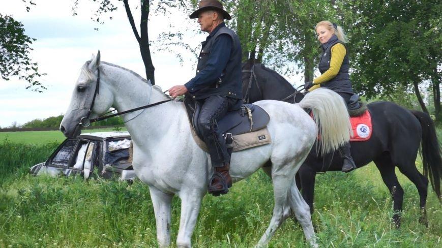 #ХочувРостов: Артем Козлов впервые сел на лошадь, фото-3