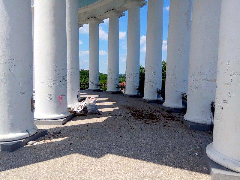 В Одессе обнаружили историческую облицовку Воронцовской колоннады (ФОТО, ВИДЕО), фото-10