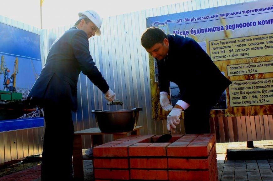 Премьер-министр заложил камень в погрузочный терминал в Мариупольском порту (ФОТО), фото-8