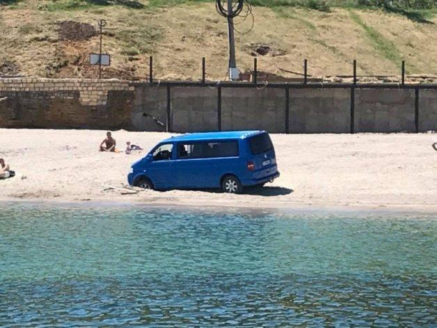 Одессит жестко опозорился на пляже (ФОТО), фото-1