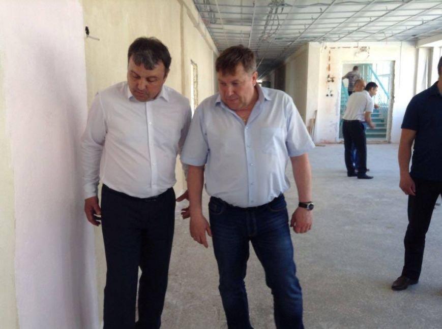 Капитальный ремонт ОШ №66 в Мариуполе подорожает на 6-8 млн грн, - Бойченко (ФОТОРЕПОРТАЖ, ВИДЕО), фото-11