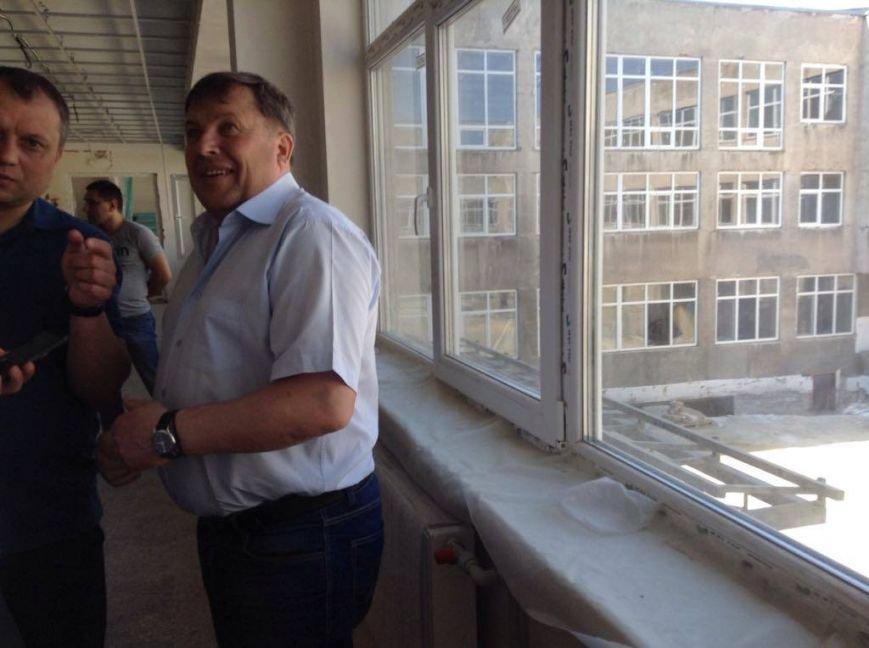 Капитальный ремонт ОШ №66 в Мариуполе подорожает на 6-8 млн грн, - Бойченко (ФОТОРЕПОРТАЖ, ВИДЕО), фото-9