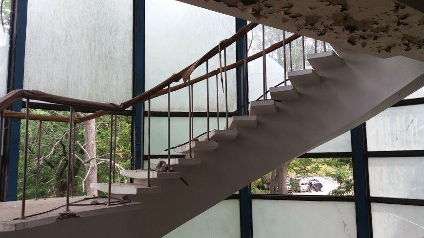 Разбитые окна и новая крыша: на запорожской Хортице бывшую VIP-дачу хотят превратить в учебный корпус академии, — ФОТОРЕПОРТАЖ, фото-3