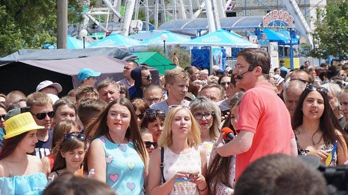 """В Бердянске проходят съемки """"Караоке на майдане"""", - ФОТО, фото-1"""