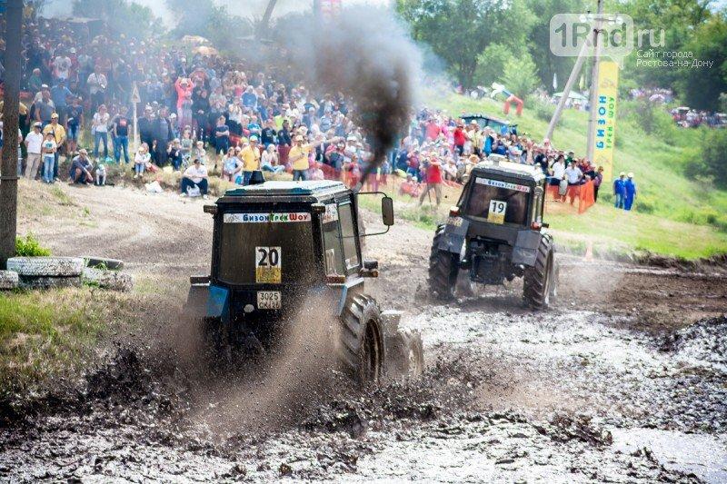 «Бизон-Трек-Шоу 2017»: лучшие моменты единственных в России гонок на тракторах, фото-13