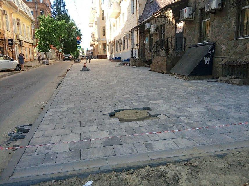 Серыми будут новые пешеходные зоны в центре Ростова, фото-1
