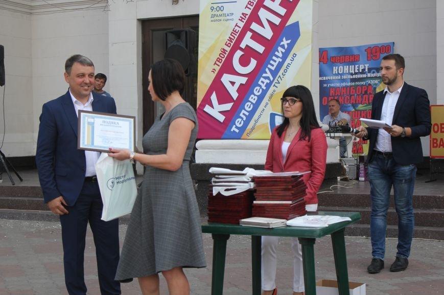 В Мариуполе поздравили журналистов (ФОТО), фото-3