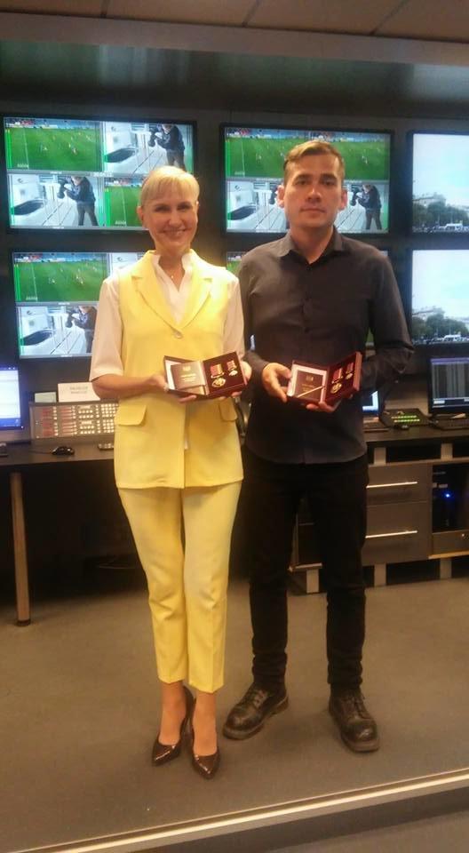 Президент наградил орденами мариупольских журналистов (ФОТО), фото-3