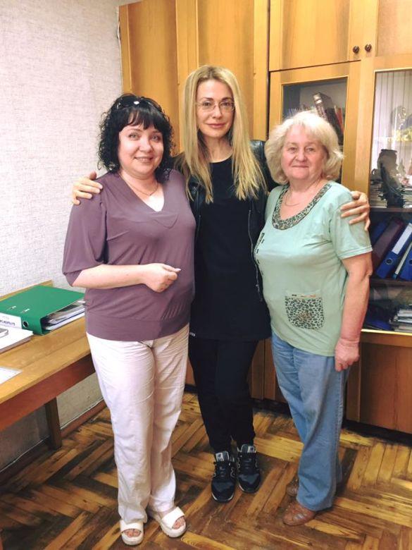 Ольга Сумская посетила в Запорожье родную школу, – ФОТО, фото-1