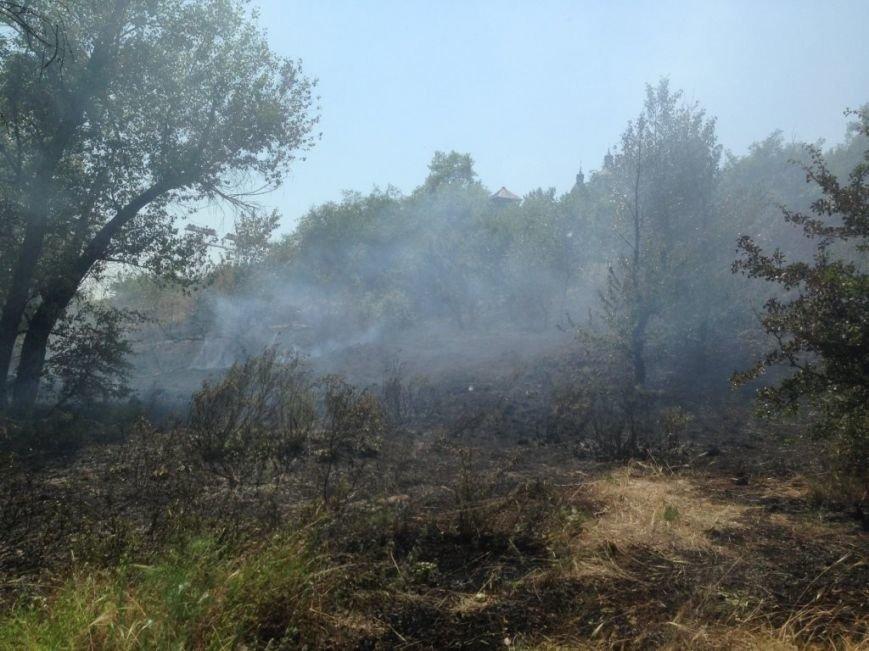 На Хортице попытались поджечь «Запорожскую Сечь»: пожар остановили, – ФОТО, фото-1