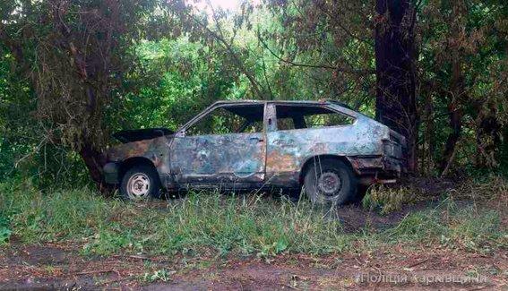 В полиции назвали вероятную причину возгорания авто в Изюме (ФОТО), фото-1