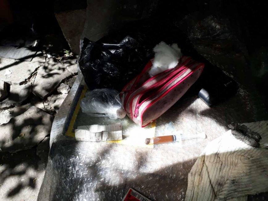 На Академика Павлова бойцы спецбатальона задержали наркодиллера (ФОТО), фото-1