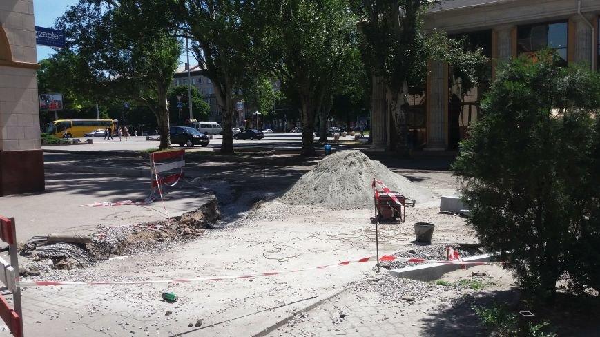 Как на проспекте Маяковского в Запорожье ремонтируют дорогу за 6 миллионов гривен, – ФОТОРЕПОРТАЖ, фото-17