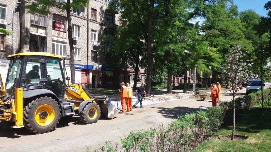 Как на проспекте Маяковского в Запорожье ремонтируют дорогу за 6 миллионов гривен, – ФОТОРЕПОРТАЖ, фото-3